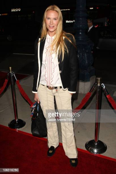 Actress Kelly Lynch at the The Darjeeling Limited Los Angeles Premiere at the Academy of Motion Picture Arts and Sciences on October 4 2007 in...