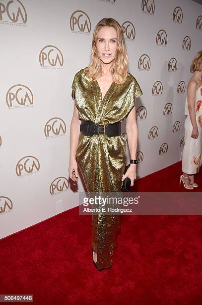 Actress Kelly Lynch attends 27th Annual Producers Guild Of America Awards at the Hyatt Regency Century Plaza on January 23 2016 in Century City...