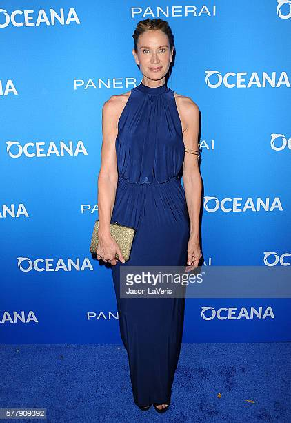 Actress Kelly Lynch attends Oceana Sting Under the Stars on July 18 2016 in Los Angeles California
