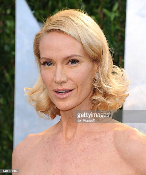 Actress Kelly Lynch attends the 2012 Vanity Fair Oscar Party at Sunset Tower on February 26 2012 in West Hollywood California