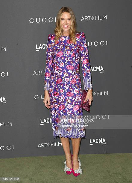 Actress Kelly Lynch attends the 2016 LACMA Art Film Gala honoring Robert Irwin and Kathryn Bigelow presented by Gucci at LACMA on October 29 2016 in...