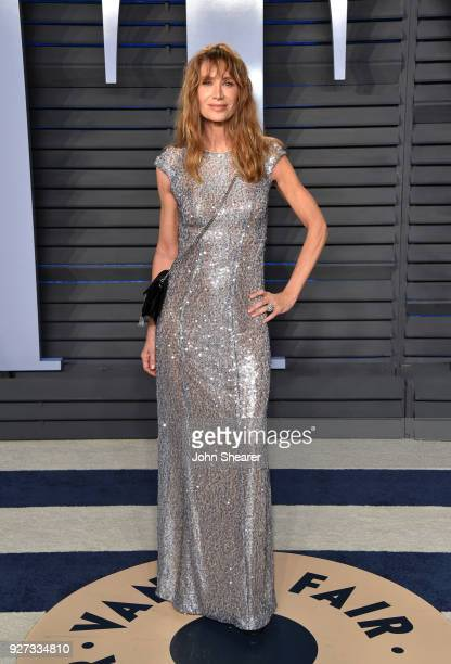 Actress Kelly Lynch attends the 2018 Vanity Fair Oscar Party hosted by Radhika Jones at Wallis Annenberg Center for the Performing Arts on March 4,...