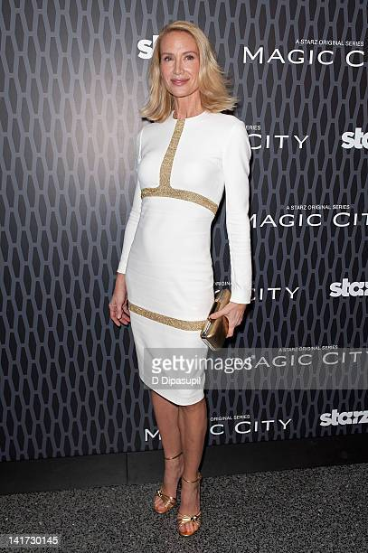 Actress Kelly Lynch attends the Magic City screening at the Academy Theater at Lighthouse International on March 22 2012 in New York City