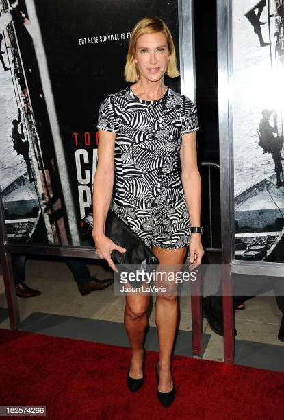 """Actress Kelly Lynch attends the premiere of """"Captain Phillips"""" at the Academy of Motion Picture Arts and Sciences on September 30, 2013 in Beverly..."""