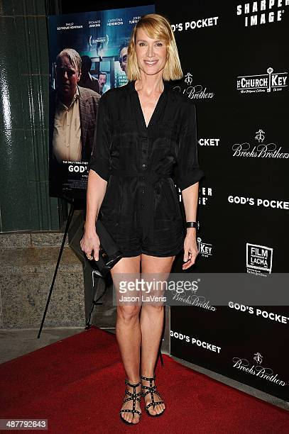Actress Kelly Lynch attends the premiere of God's Pocket at LACMA on May 1 2014 in Los Angeles California