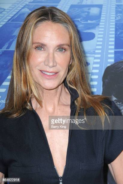 Actress Kelly Lynch attends the premiere of HBO's 'Spielberg' at Paramount Studios on September 26 2017 in Hollywood California