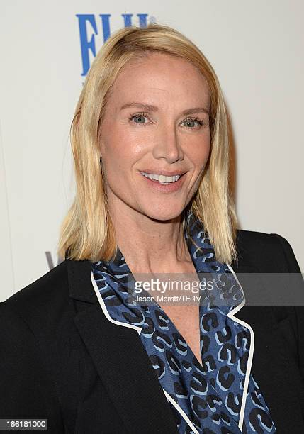 Actress Kelly Lynch attends the premiere of Magnolia Pictures' To The Wonder at Pacific Design Center on April 9 2013 in West Hollywood California