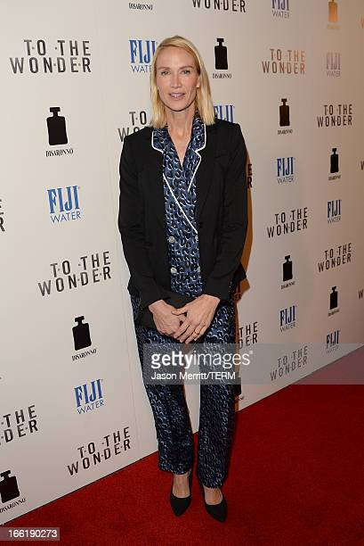 Actress Kelly Lynch attends the premiere of Magnolia Pictures' 'To The Wonder' at Pacific Design Center on April 9 2013 in West Hollywood California