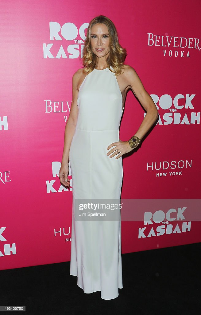 Actress Kelly Lynch attends the 'Rock The Kasbah' New York premiere at AMC Loews Lincoln Square on October 19, 2015 in New York City.