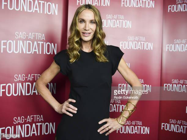 Actress Kelly Lynch attends the SAGAFTRA Foundation's Conversations with Mr Mercedes at SAGAFTRA Foundation Screening Room on July 26 2017 in Los...