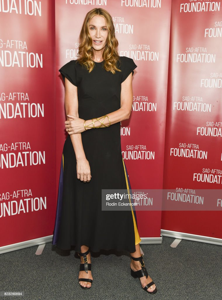 Actress Kelly Lynch attends the SAG-AFTRA Foundation's Conversations with 'Mr. Mercedes' at SAG-AFTRA Foundation Screening Room on July 26, 2017 in Los Angeles, California.