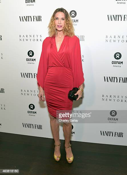 Actress Kelly Lynch attends VANITY FAIR and Barneys New York Dinner benefiting OXFAM hosted by Rooney Mara at Chateau Marmont on February 18 2015 in...