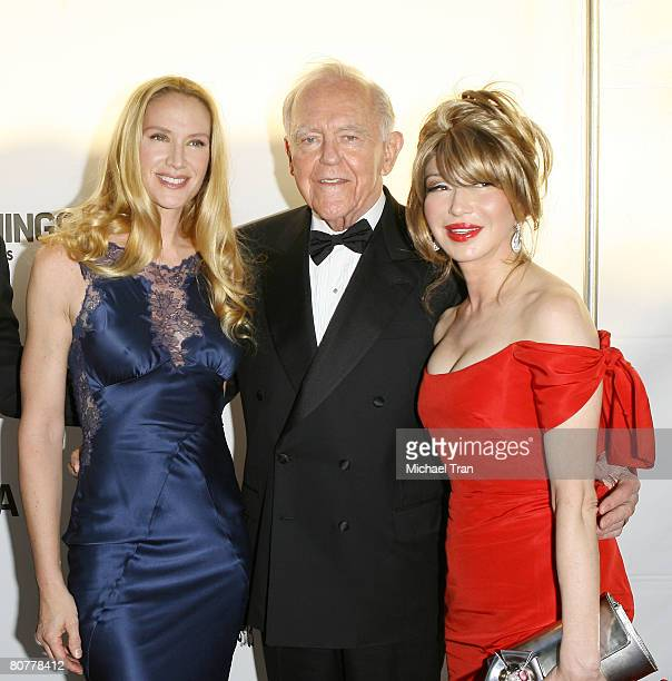 Actress Kelly Lynch Elizabeth Segerstrom and Henry Segerstrom arrive at the 40th Anniversary Gala honoring Placido Domingo presented by the LA Opera...