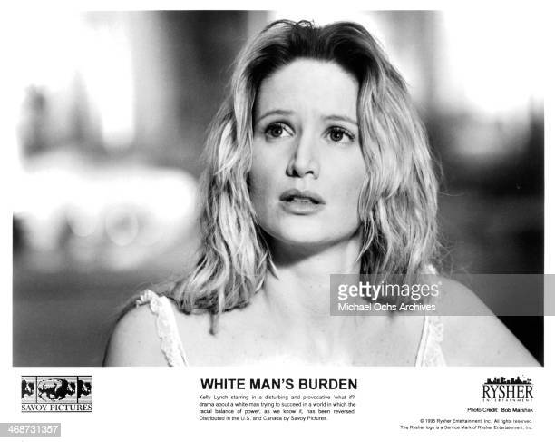 Actress Kelly Lynch on set of the movieWhite Man's Burden circa 1995