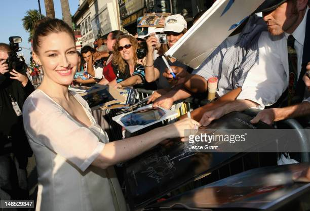 Actress Kelly Macdonald arrives at Film Independent's 2012 Los Angeles Film Festival Premiere of Disney Pixar's Brave at Dolby Theatre on June 18...
