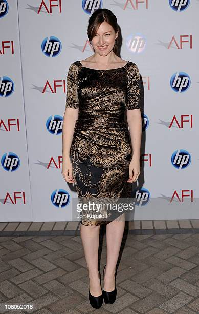 Actress Kelly Macdonald arrives at the 2011 AFI Awards at The Four Seasons Hotel on January 14, 2011 in Beverly Hills, California.