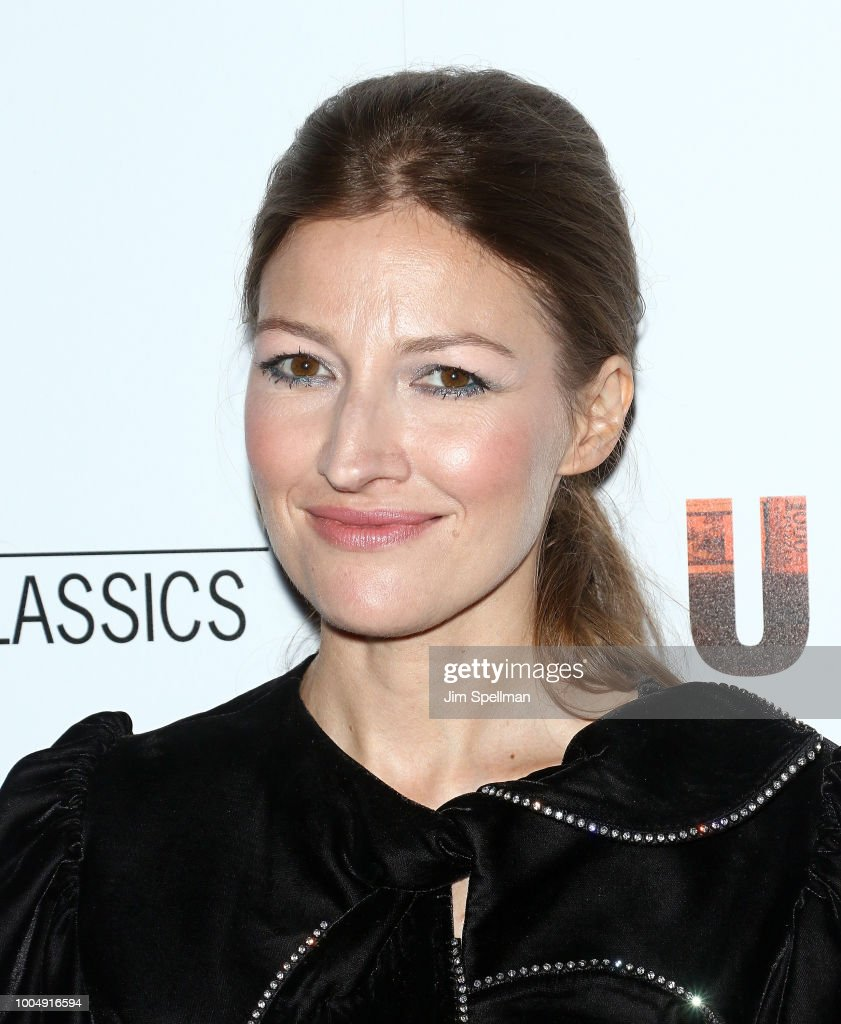 Actress Kelly Macdonald attends the screening of 'Puzzle' hosted by Sony Pictures Classics and The Cinema Society at The Roxy Cinema on July 24, 2018 in New York City.