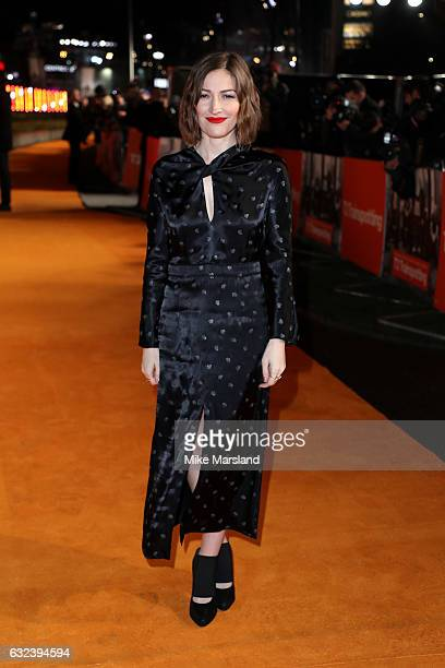 Actress Kelly Macdonald attends the 'T2 Trainspotting' world premiere on January 22 2017 in Edinburgh United Kingdom