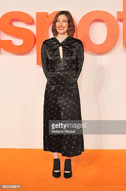 Actress Kelly Macdonald attends the World Premiere of T2 Trainspotting at Cineworld on January 22 2017 in Edinburgh United Kingdom