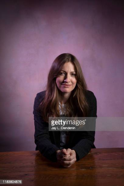 Actress Kelly MacDonald from 'Dirt Music' is photographed for Los Angeles Times on September 9 2019 at the Toronto International Film Festival in...