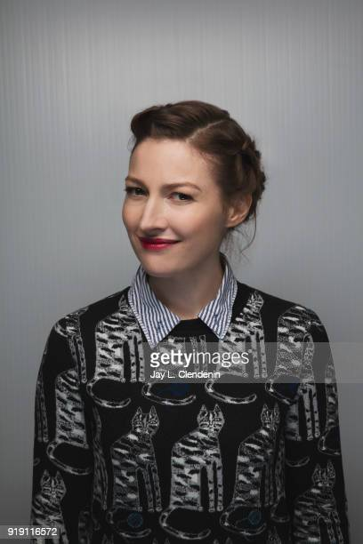 Actress Kelly Macdonald from the film 'Puzzle' is photographed for Los Angeles Times on January 22 2018 in the LA Times Studio at Chase Sapphire on...