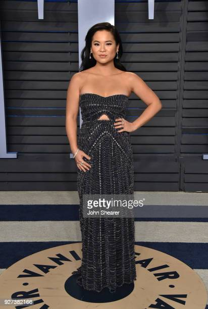Actress Kelly Marie Tran attends the 2018 Vanity Fair Oscar Party hosted by Radhika Jones at Wallis Annenberg Center for the Performing Arts on March...