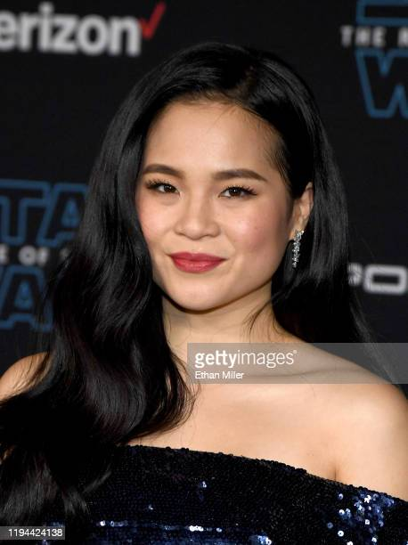 Actress Kelly Marie Tran attends the premiere of Disney's Star Wars The Rise of Skywalker on December 16 2019 in Hollywood California