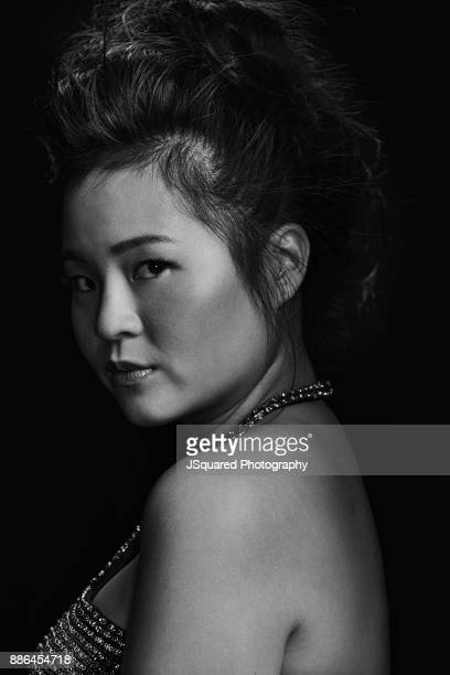 Actress Kelly Marie Tran is photographed for Buzzfeed on October 17 2017 in Los Angeles California