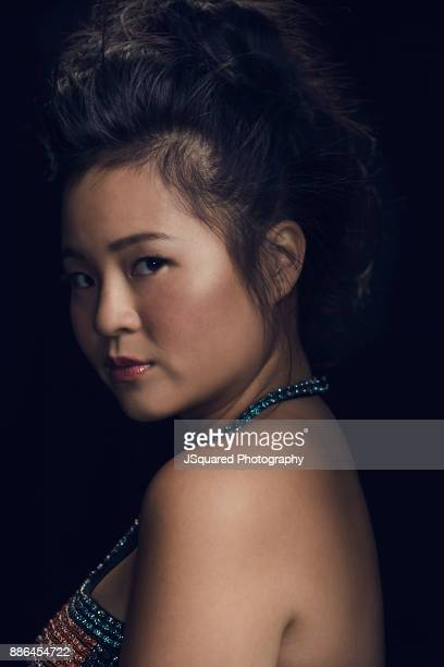 Actress Kelly Marie Tran is photographed for Buzzfeed on October 17 2017 in Los Angeles California ON DOMESTIC EMBARGO UNTIL DECEMBER 14 2017 ON...