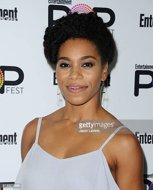 Actress Kelly McCreary attends Entertainment Weekly's Popfest at The Reef on October 30 2016 in Los Angeles California