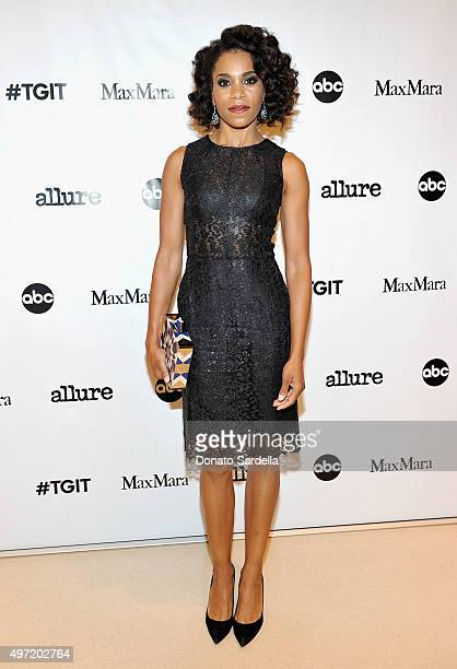 Actress Kelly McCreary attends 'MaxMara Allure Celebrate ABC's #TGIT' at MaxMara on November 14 2015 in Beverly Hills California
