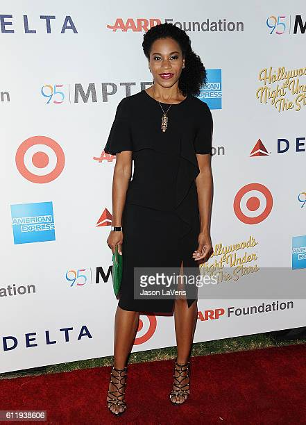 Actress Kelly McCreary attends MPTF's 95th anniversary celebration Hollywood's Night Under The Stars on October 1 2016 in Los Angeles California