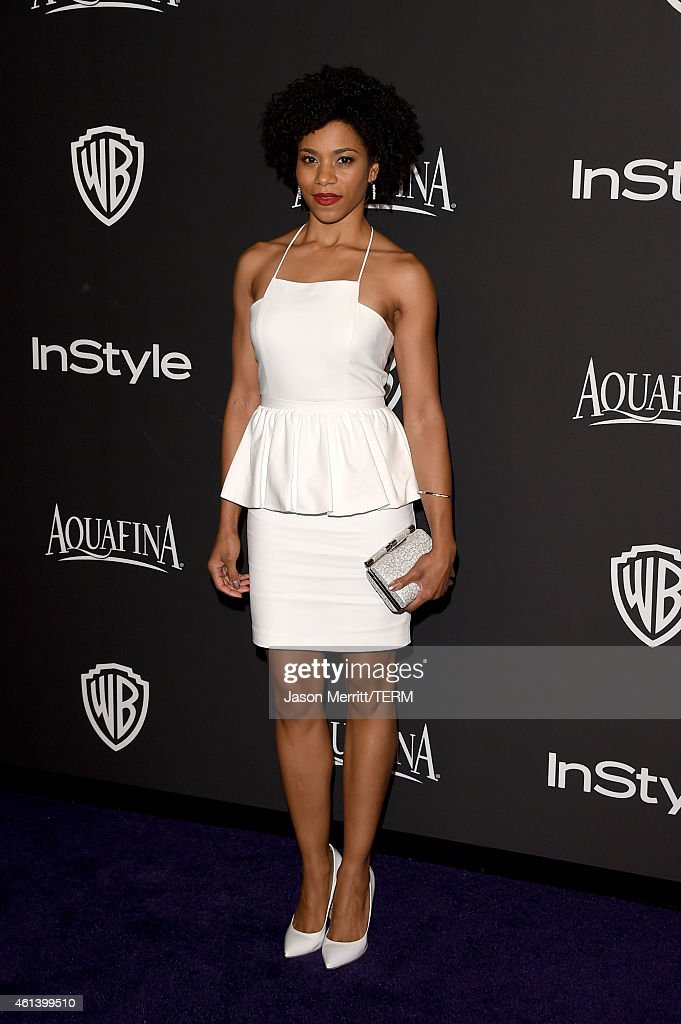 Actress Kelly McCreary attends the 2015 InStyle And Warner Bros. 72nd Annual Golden Globe Awards Post-Party at The Beverly Hilton Hotel on January 11, 2015 in Beverly Hills, California.