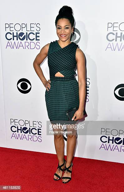Actress Kelly McCreary attends The 41st Annual People's Choice Awards at Nokia Theatre LA Live on January 7 2015 in Los Angeles California