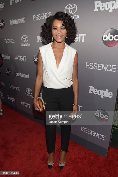 Actress Kelly McCreary attends the Celebration of ABC's TGIT Lineup presented by Toyota and cohosted by ABC and Time Inc's Entertainment Weekly...