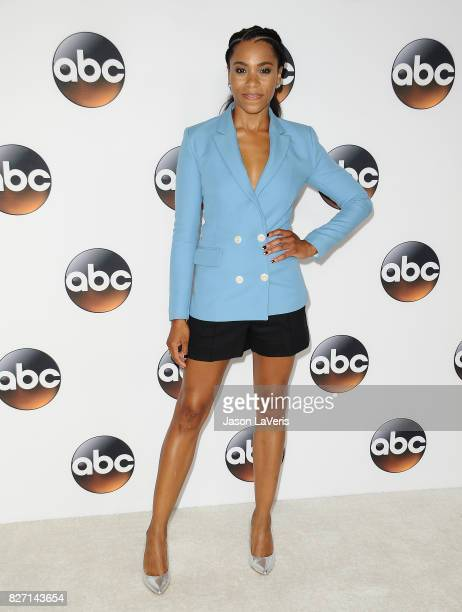 Actress Kelly McCreary attends the Disney ABC Television Group TCA summer press tour at The Beverly Hilton Hotel on August 6 2017 in Beverly Hills...