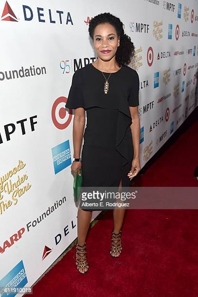 Actress Kelly McCreary attends the MPTF 95th anniversary celebration with Hollywood's Night Under The Stars at MPTF Wasserman Campus on October 1...