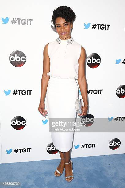 Actress Kelly McCreary attends the TGIT Premiere event at Palihouse on September 20 2014 in West Hollywood California