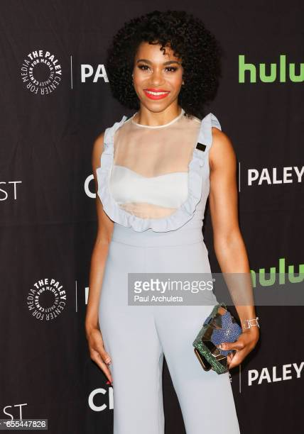 Actress Kelly McCreary attends the The Paley Center For Media's 34th Annual PaleyFest Los Angeles Grey's Anatomy at Dolby Theatre on March 19 2017 in...