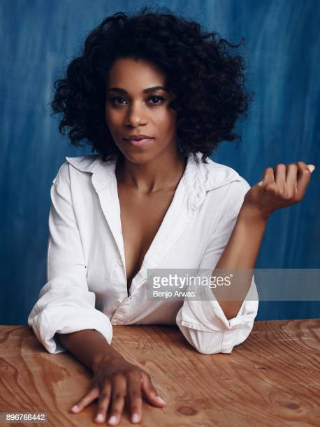 Actress Kelly McCreary is photographed for Self Assignment on August 1 2015 in Los Angeles California