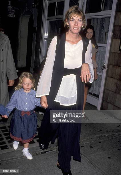 Actress Kelly McGillis and daughter Kelsey Tillman attend the 'Getting Even with Dad' New York City Premiere on May 15 1994 at Plaza Theatre in New...