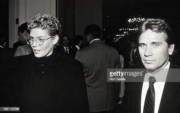 Actress Kelly McGillis and husband Fred Tillman attending 'Hollywood Women's Political Caucus ProChoice Rally' on April 8 1989 at Capitol Hill in...