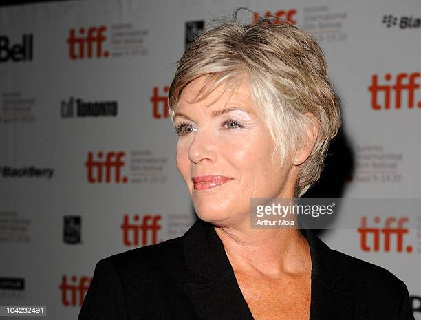 """Actress Kelly McGillis attends """"Stake Land"""" Premiere during the 35th Toronto International Film Festival at Ryerson Theatre on September 17, 2010 in..."""