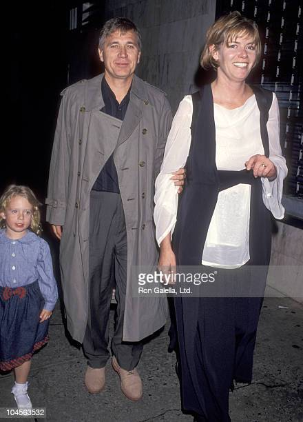 Actress Kelly McGillis husband Fred Tillman and daughter Kelsey Tillman attend the Getting Even with Dad New York City Premiere on May 15 1994 at...