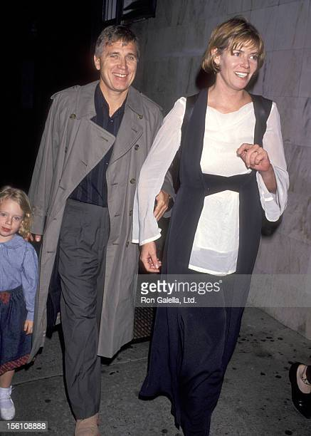 Actress Kelly McGillis husband Fred Tillman and daughter Kelsey Tillman attend the 'Getting Even with Dad' New York City Premiere on May 15 1994 at...