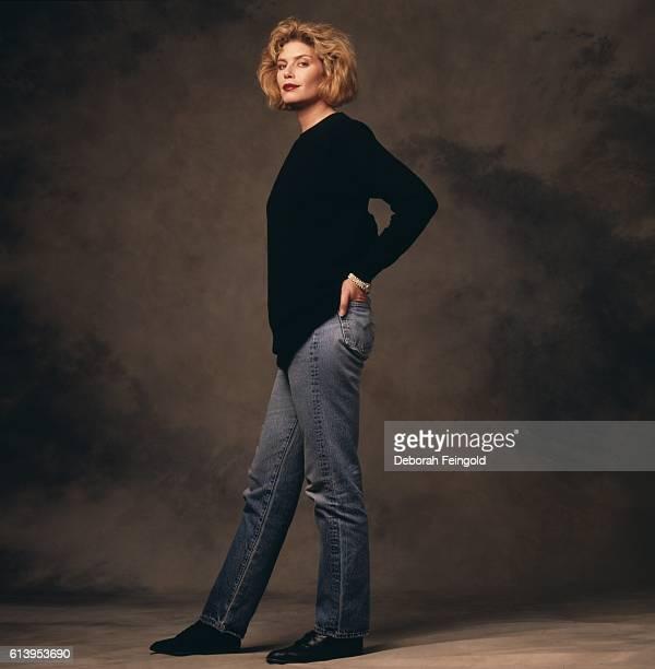 Actress Kelly McGillis March 1988 in Washington, DC.