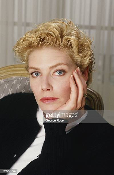 Actress Kelly McGillis poses during a 1988 Beverly Hills California portrait photo session McGillis who has starred in such films as Witness and Top...
