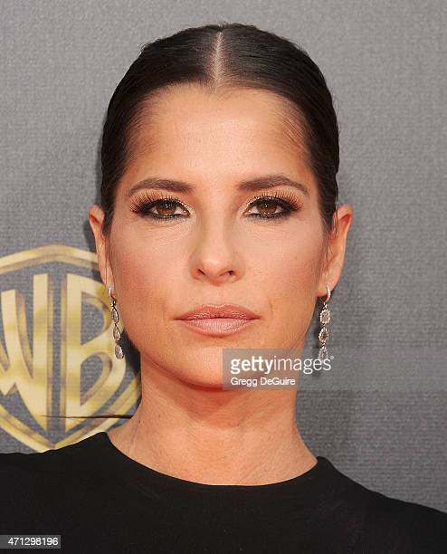 Actress Kelly Monaco arrives at the 42nd Annual Daytime Emmy Awards at Warner Bros Studios on April 26 2015 in Burbank California