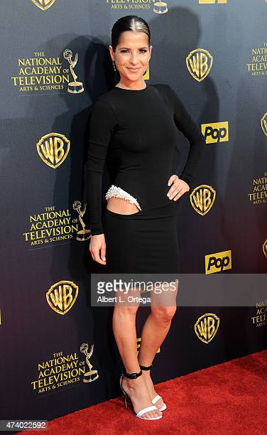 Actress Kelly Monaco arrives for The 42nd Annual Daytime Emmy Awards held at Warner Bros Studios on April 26 2015 in Burbank California