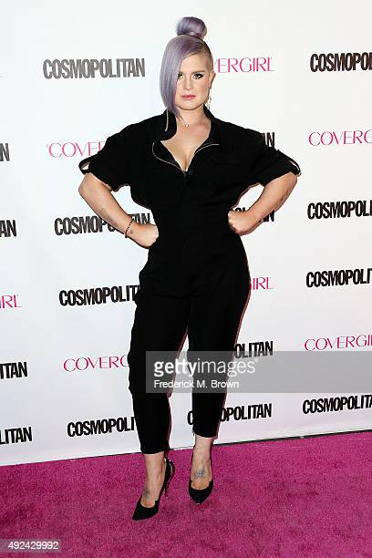 Actress Kelly Osbourne attends Cosmopolitan's 50th Birthday Celebration at Ysabel on October 12 2015 in West Hollywood California